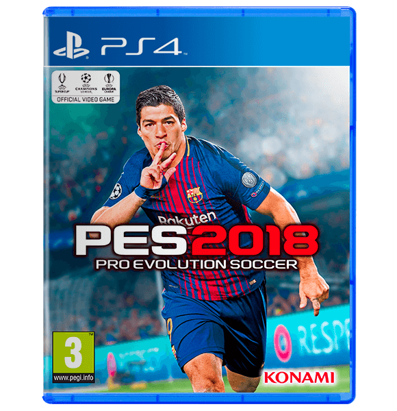 PES 2018 PlayStation 4 - Standard Edition