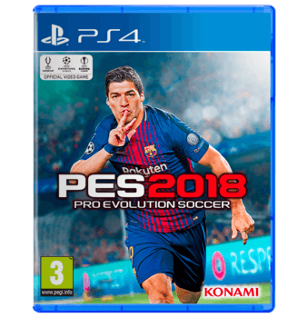 PES 2018 PlayStation 4 - Used