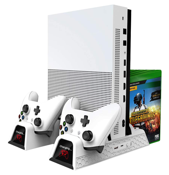 Xbox One (X/S) Multi-functional Cooling Stand - White