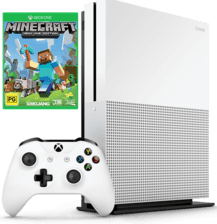 Xbox One S 1TB Console - Minecraft Bundle