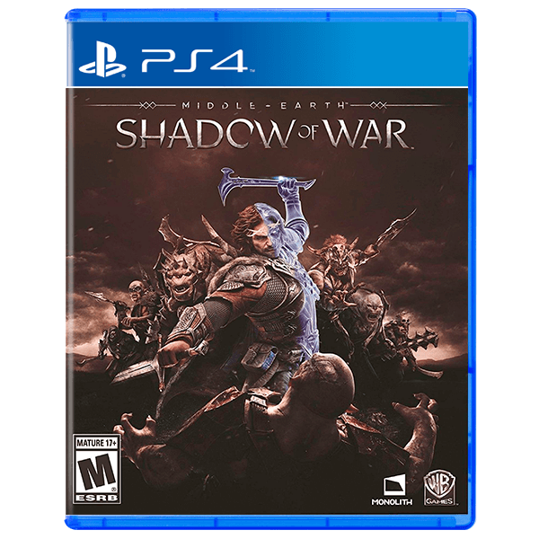 Middle-earth Shadow Of War (Used) - PS4