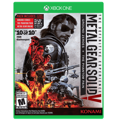 METAL GEAR SOLID V: THE DEFINITIVE EXPERIENCE Used