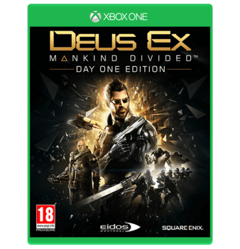 Deus Ex: Mankind Divided - Xbox One Used
