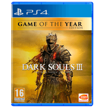 Dark Souls 3 The Fire Fades (GOTY) - ps4