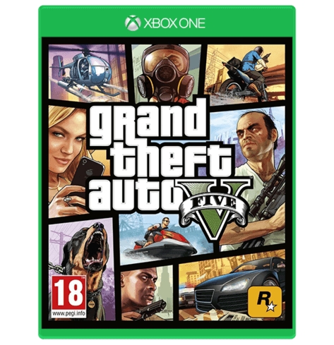 Grand Theft Auto V - XBOX ONE Used
