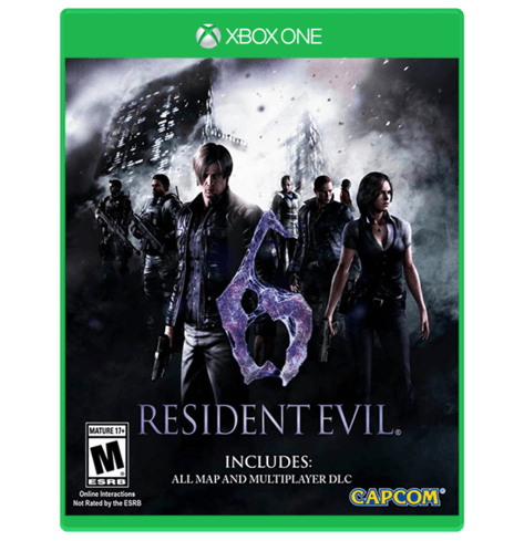 Resident Evil 6 - Xbox One Used