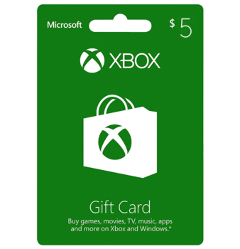 Xbox $5 Gift Card - US Digital Code