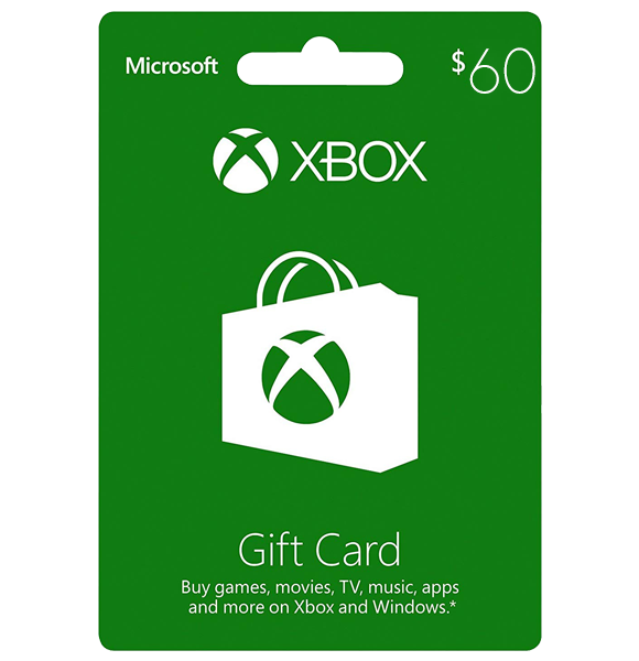 Xbox $60 Gift Card - Digital Code