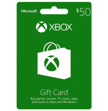 Xbox Live $50 Gift Card US