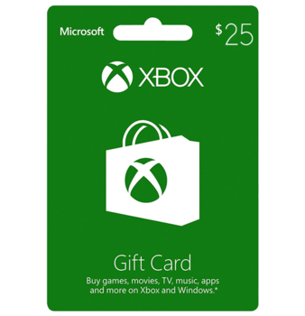 Xbox Live $25 Gift Card US