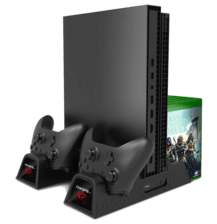 Xbox One (X/S) Multi-functional Cooling Stand - Black