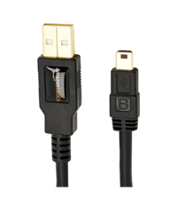 AmazonBasics USB 2 Male to Mini Cable 1.8m