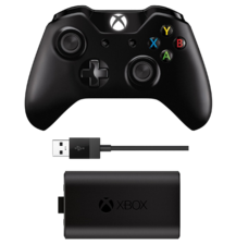 Xbox One Wireless Controller Play & Charge Kit