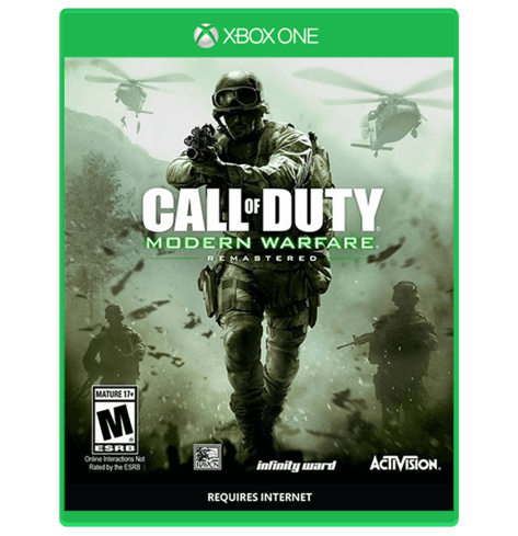 Call Of Duty Modern warfare Remastered – Xbox One