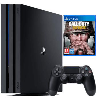 PS4 Pro 1 TB Call of Duty WWII bundle