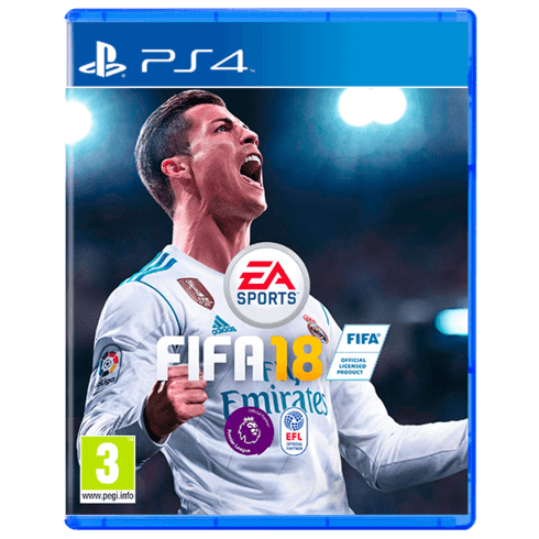 FIFA 18 Standard - PS4 (Used)