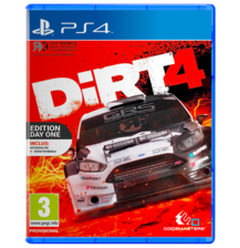 Dirt 4 Day One Edition PS4 - Used