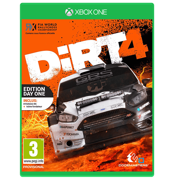 Dirt 4 Day One Edition - Xbox One