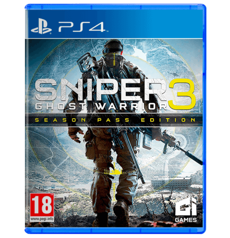 Sniper Ghost Warrior 3 Used PS4 COMPLETE