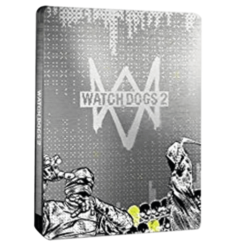 Watch Dogs 2 Steel Book PlayStation 4 - PS4