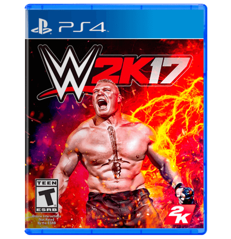 WWE 2K17  PlayStation 4