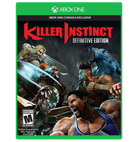 Killer Instinct Edition Definitive Xbox One Used