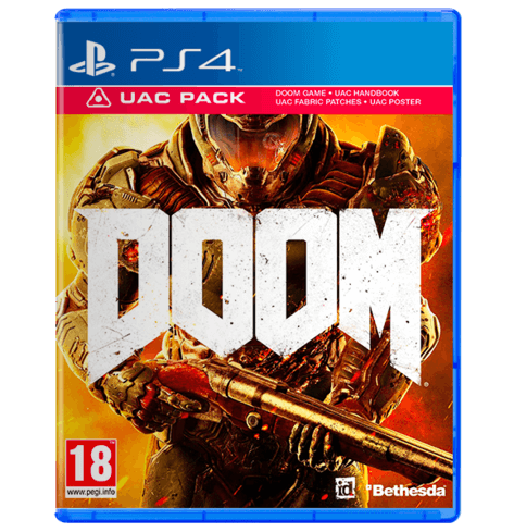 DOOM UAC Pack - PlayStation 4 - PS4