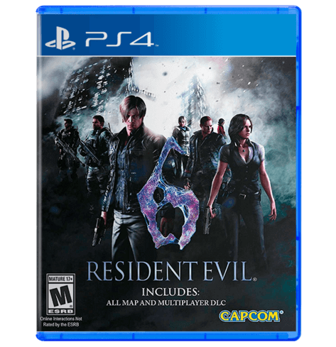 Resident Evil 6 - PlayStation 4 (Used)