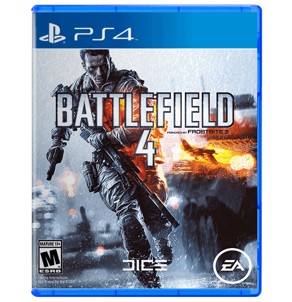Battlefield 4 (PS4) (Used)