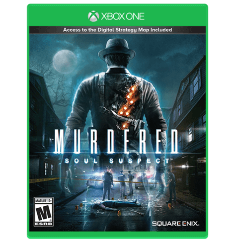 murdered soul suspect  X one Used