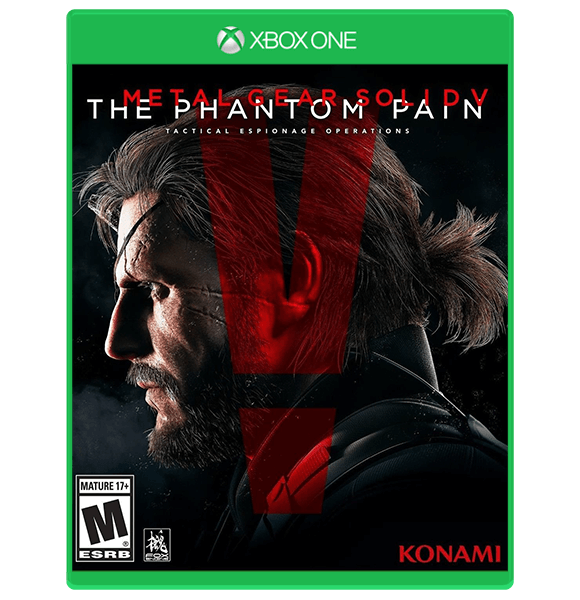 Metal Gear Solid V The Phantom Pain Xbox One Used