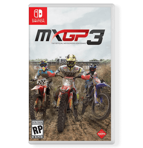 MXGP3 The Official MOTOCROSS VIDEOGAME - Nintendo Switch