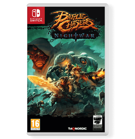 Battle Chasers Nightwar - Nintendo Switch