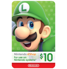 Nintendo E-Shop $10 Gift Card