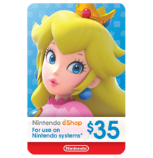 Nintendo E-Shop 35$ USA