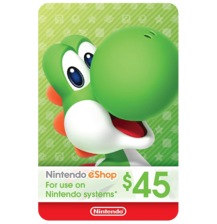 Nintendo E-Shop 45$ USA
