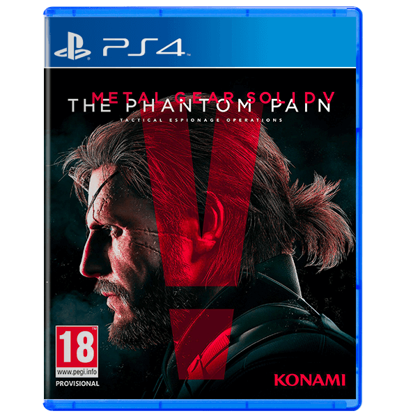 Metal Gear Solid V: The Phantom Pain Used