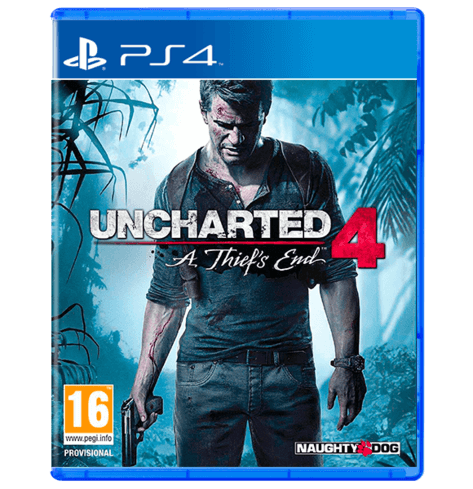 Uncharted 4 A Thiefs End Arabic PS4 -Used