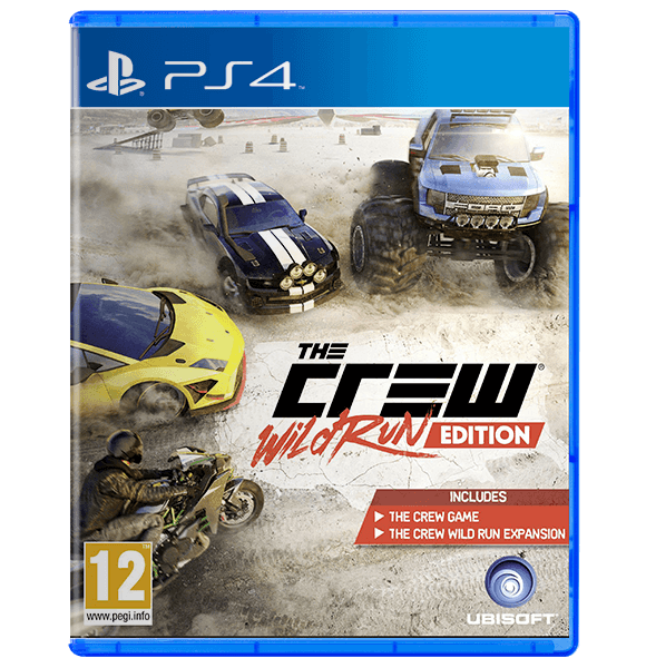 The Crew Wild Run Edition PlayStation 4 Used