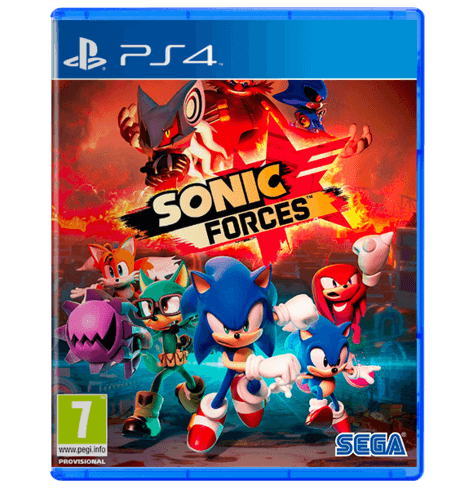 Sonic Forces Bonus Edition - PS4 - Used