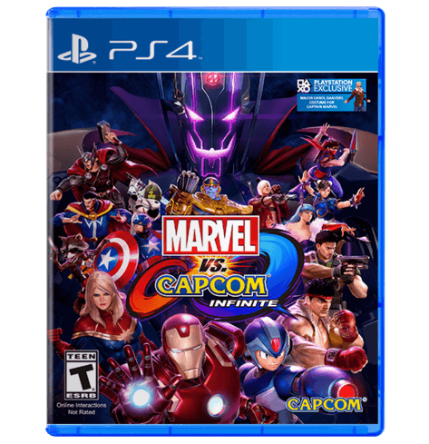 Marvel vs. Capcom Infinite - Used - PS 4