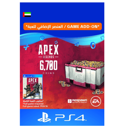 APEX Legends - 6700 Coins UAE