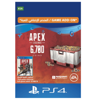 APEX Legends - 6700 Coins KSA