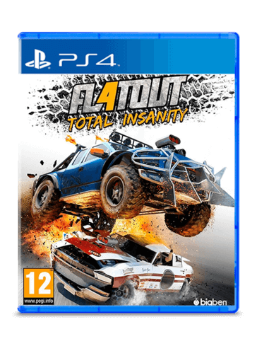 Flatout Total Insanity PS4 - PlayStation 4
