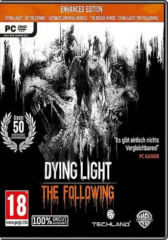 Dying Light: The Following - Enhanced Edition PC Steam Code