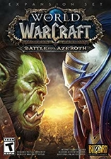 World of Warcraft: Battle for Azeroth Blizzard Key EUROPE PC CODE