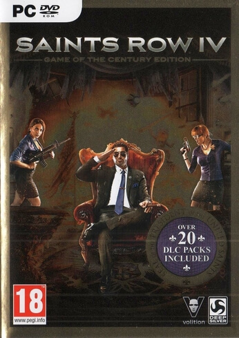 Saints Row IV Game Of The Century PC Steam Code
