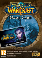 World of Warcraft 60 days time card Europe PC