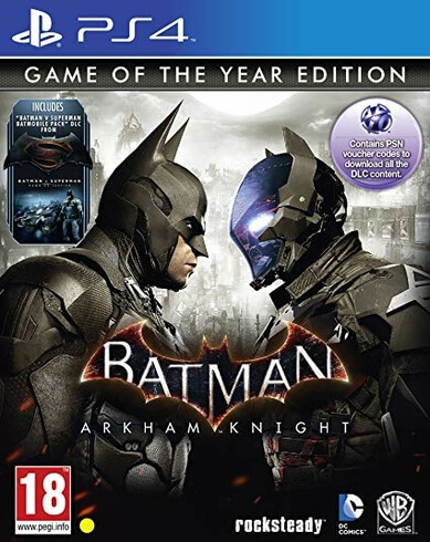 Batman Arkham Knight Game of the Year -  PS4