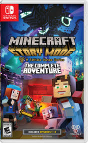 Minecraft Story Mode: The Complete Adventure - NINTENDO SWITCH Used